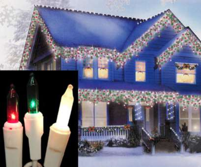 Red Icicle Lights Green Wire Cleaver Set Of, Red, Green & Frosted Clear Mini Icicle Christmas Lights, White Wire, 25255520 Galleries
