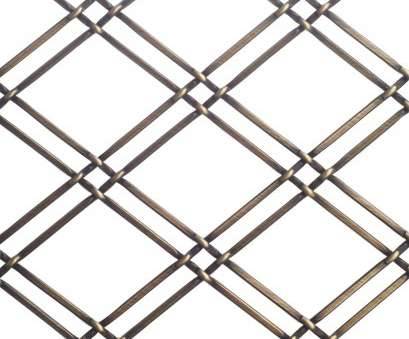 richelieu decorative wire mesh Richelieu 88114BB 36 x, Double Diamond Metal Wire Mesh, Burnished Brass 16 Top Richelieu Decorative Wire Mesh Ideas