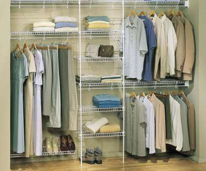 17 Practical Rubbermaid Closet Wire Shelving Systems Pictures
