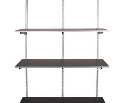 rubbermaid wire shelving weight capacity Rubbermaid FastTrack Garage 4-Shelf 48, x 16, Laminate Shelving, with Rail-1937613 -, Home Depot Rubbermaid Wire Shelving Weight Capacity Fantastic Rubbermaid FastTrack Garage 4-Shelf 48, X 16, Laminate Shelving, With Rail-1937613 -, Home Depot Images