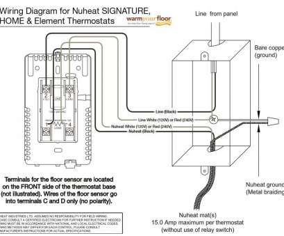 schluter thermostat wiring diagram Nuheat HOME Programmable Thermostat AC0056 Schluter Thermostat Wiring Diagram Professional Nuheat HOME Programmable Thermostat AC0056 Solutions