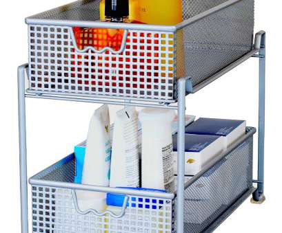 silver wire mesh kitchen cupboard baskets Amazon.com, DecoBros, Tier Mesh Sliding Cabinet Basket Organizer Drawer, Silver, Shelf Baskets Silver Wire Mesh Kitchen Cupboard Baskets Fantastic Amazon.Com, DecoBros, Tier Mesh Sliding Cabinet Basket Organizer Drawer, Silver, Shelf Baskets Solutions