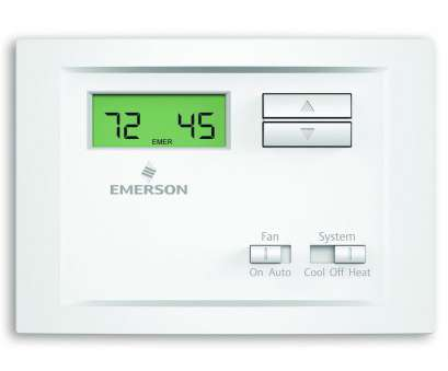 single stage thermostat wiring diagram Emerson Single Stage, Programmable Thermostat NP110, Home, Wiring Diagram Single Stage Thermostat Wiring Diagram Cleaver Emerson Single Stage, Programmable Thermostat NP110, Home, Wiring Diagram Pictures