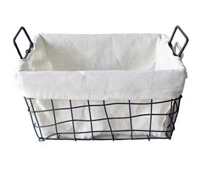small round wire mesh baskets Rectangular Woven Metal Wire Basket with Handles, Large Small Round Wire Mesh Baskets Perfect Rectangular Woven Metal Wire Basket With Handles, Large Collections