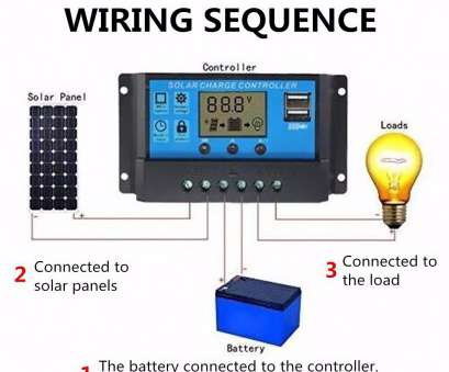 solar panel charge controller wiring diagram Solar Panel Charge Controller Wiring Diagram, LoreStan.info 13 Practical Solar Panel Charge Controller Wiring Diagram Images
