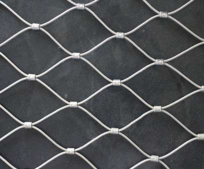 12 Professional Stainless Steel Rope Mesh With Ferrules Images