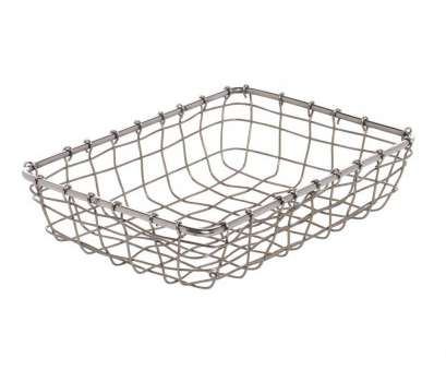 stainless steel wire mesh baskets with lid Expressly HUBERT Rectangular Stainless Steel Wire Basket, 9L x 6W Stainless Steel Wire Mesh Baskets With Lid Most Expressly HUBERT Rectangular Stainless Steel Wire Basket, 9L X 6W Pictures