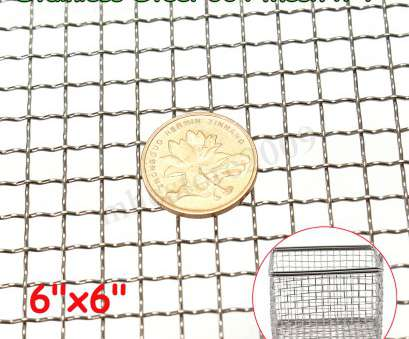 stainless steel wire mesh ebay Details about Stainless Steel, Mesh Filtration #4 Woven Wire Cloth Screen, x 6'' Stainless Steel Wire Mesh Ebay Nice Details About Stainless Steel, Mesh Filtration #4 Woven Wire Cloth Screen, X 6'' Photos