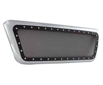 stainless steel wire mesh ontario 04-08 Ford F-150 Evolution Stainless Steel Wire Mesh Packaged Grille Chrome Shell w/ Black Mesh Stainless Steel Wire Mesh Ontario Best 04-08 Ford F-150 Evolution Stainless Steel Wire Mesh Packaged Grille Chrome Shell W/ Black Mesh Photos