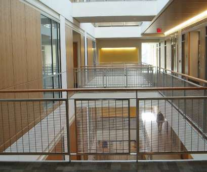 stainless steel wire mesh ontario Yale University Rosenkranze Hall Atrium, Interior Stainless Steel Woven Wire Mesh Railing System, Banker Stainless Steel Wire Mesh Ontario Cleaver Yale University Rosenkranze Hall Atrium, Interior Stainless Steel Woven Wire Mesh Railing System, Banker Photos