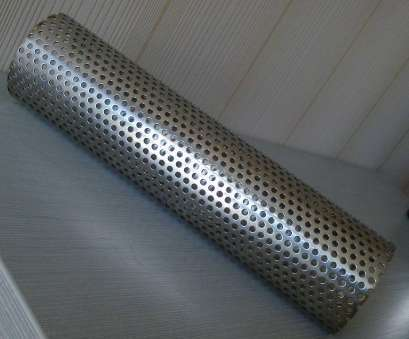 Stainless Steel Wire Mesh Tube Practical Metal, 316 Customized Perforated Stainless Steel Wire Mesh Filter Cylinder/Pipe/Tube Collections