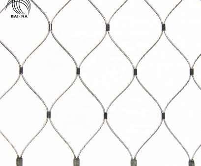 12 Simple Stainless Steel Wire Rope Mesh Images