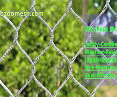 stainless steel wire rope mesh Stainless steel wire rope mesh is a professional, mesh, animal cage protection net, using 304/316 stainless steel cables, hand-woven, widely used in Stainless Steel Wire Rope Mesh Popular Stainless Steel Wire Rope Mesh Is A Professional, Mesh, Animal Cage Protection Net, Using 304/316 Stainless Steel Cables, Hand-Woven, Widely Used In Pictures