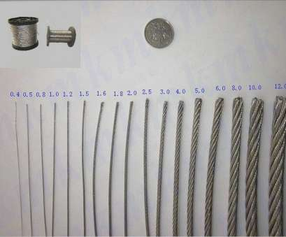 steel wire gauge to mm 100M/Roll AISI, Stainless Steel Wire Rope, Structure, MM Diameter Steel Cable Steel Wire Gauge To Mm Best 100M/Roll AISI, Stainless Steel Wire Rope, Structure, MM Diameter Steel Cable Collections