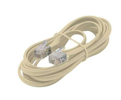 telephone wire gauge Commercial Electric 50, Telephone Line Cord, White-50FT LINE Telephone Wire Gauge Most Commercial Electric 50, Telephone Line Cord, White-50FT LINE Images