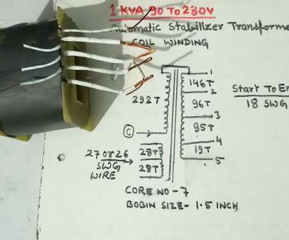 transformer winding wire gauge calculator 1KVA, To 280v Automatic Stabilizer Transformer Coil Winding. YT-58 Transformer Winding Wire Gauge Calculator Practical 1KVA, To 280V Automatic Stabilizer Transformer Coil Winding. YT-58 Photos