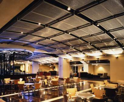 Used Wire Mesh Panels Simple Ravens Sports Club, Ceiling Lighting Panels, Banker Wire, Archello Solutions