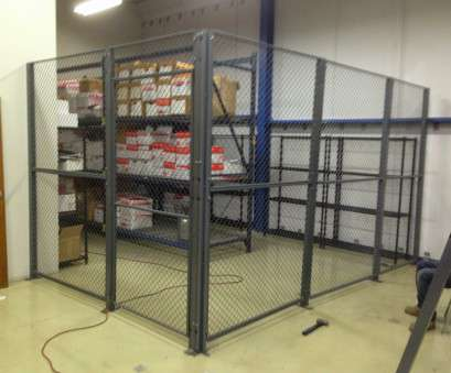 used wire rack shelving Wire Mesh Partition Security Cage Used to Secure Records Storage on Shelving, Pallet Rack Used Wire Rack Shelving New Wire Mesh Partition Security Cage Used To Secure Records Storage On Shelving, Pallet Rack Ideas