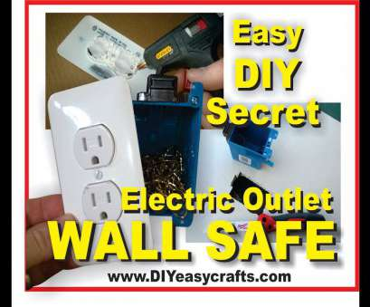 wall outlet safe diy How to make a Easy, Secret Hidden Electric Outlet Wall Safe 10 Professional Wall Outlet Safe Diy Ideas
