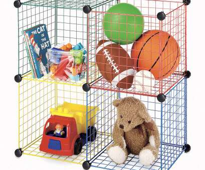 walmart grid wire shelving Whitmor Kids Storage Cubes Multicolor, of 4 20 Brilliant Walmart Grid Wire Shelving Ideas