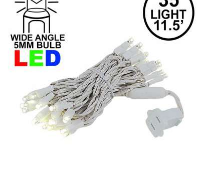 Warm White Wire Christmas Lights Simple 35 Light Warm White, Christmas Light, On White Wire- Novelty Collections