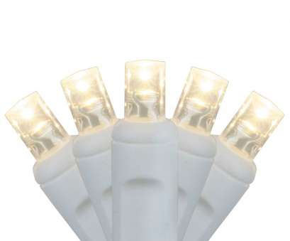 Warm White Wire Christmas Lights Popular Wide Angle, LED Lights, 20, Warm White, Christmas Lights, 4