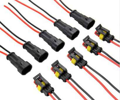 waterproof electrical wire connectors 5sets, 2, Way, Super seal Waterproof Electrical Wire Connector Plug, Car Auto 2, Way Sealed, Connectors from Lights & Lighting on 17 Popular Waterproof Electrical Wire Connectors Photos