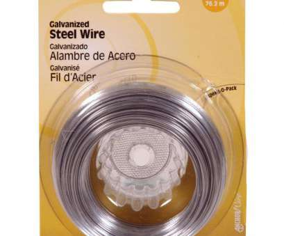 Where To, 24 Gauge Wire Simple Shop Hillman 24-Gauge Galvanized Steel Wire At Lowes.Com Ideas