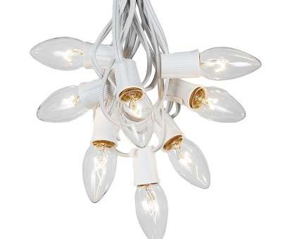 12 Cleaver White C9 Christmas Lights With White Wire Galleries