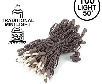9 Practical White Christmas Lights On Brown Wire Photos