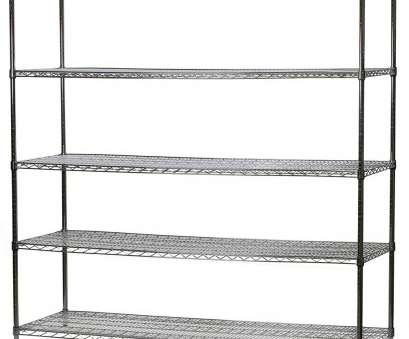 white wire rack shelving 24