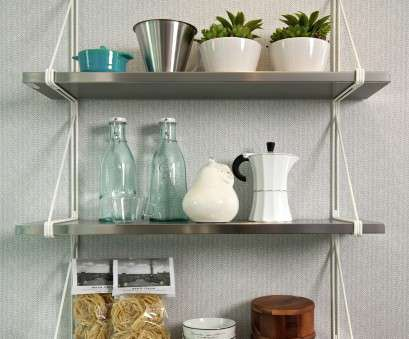 white wire rack shelving Stainless Steel Wall Shelves With White Wire, Attractive Wall Mounted Kitchen Shelves Ideas: Interior White Wire Rack Shelving Fantastic Stainless Steel Wall Shelves With White Wire, Attractive Wall Mounted Kitchen Shelves Ideas: Interior Collections