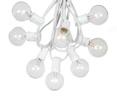 white wire string lights ... Picture of 25, Globe String Light, with Clear Bulbs on White Wire White Wire String Lights Fantastic ... Picture Of 25, Globe String Light, With Clear Bulbs On White Wire Collections