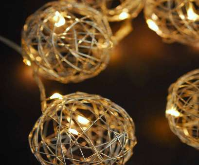 wire ball christmas lights Silver Wire Ball Battert, LED String Lights 9ft-10ct -, Lights, CTGO EVENT SUPPLY 10 Fantastic Wire Ball Christmas Lights Ideas