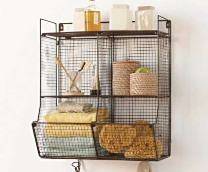 wire basket bookshelves Shelf with Metal Baskets, Hooks Best Of Lightweight with A Small Footprint This Wire Unit Wire Basket Bookshelves Creative Shelf With Metal Baskets, Hooks Best Of Lightweight With A Small Footprint This Wire Unit Pictures