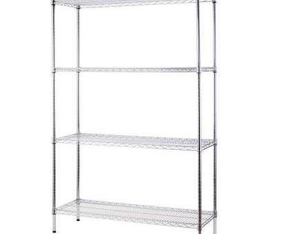 wire chrome heavy duty shelving Excel 48 In, 72 In, 18 In D, Purpose Heavy Duty 4 Tier Wire Shelving Chrome Grey Wire Chrome Heavy Duty Shelving Nice Excel 48 In, 72 In, 18 In D, Purpose Heavy Duty 4 Tier Wire Shelving Chrome Grey Photos
