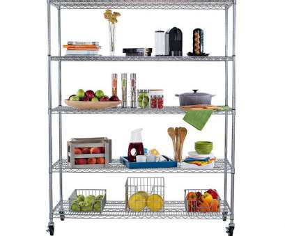 wire chrome heavy duty shelving Shop Trinity 5-tier Heavy Duty Commercial Chrome Wire Shelving Rack with Wheels, Free Shipping Today, Overstock.com, 6243086 Wire Chrome Heavy Duty Shelving Most Shop Trinity 5-Tier Heavy Duty Commercial Chrome Wire Shelving Rack With Wheels, Free Shipping Today, Overstock.Com, 6243086 Galleries