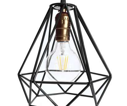 Wire Hanging Pendant Light Best Lamp Cover Loft Industrial Edison Metal Wire Frame Ceiling Pendant Ideas
