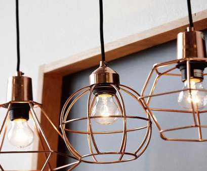 Wire Hanging Pendant Light Brilliant Love These Copper Wire Lights, The Kitchen #Product_Design #Lighting_Design Collections
