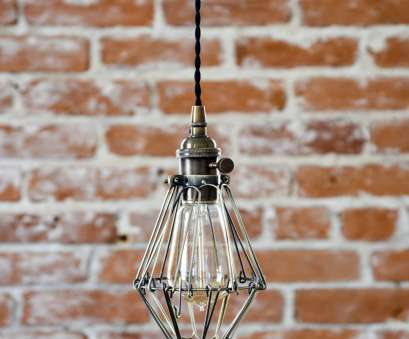 Wire Hanging Pendant Light Popular Newcastle Pendant Light [Antique Brass -, Century, Modern, Industrial, Cage Wire, Hanging Light, Plug In, Switch, Edison] Pictures