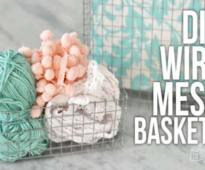 Wire Mesh Baskets, Plants Creative How To Make, Wire Mesh Baskets Of, Size! Photos