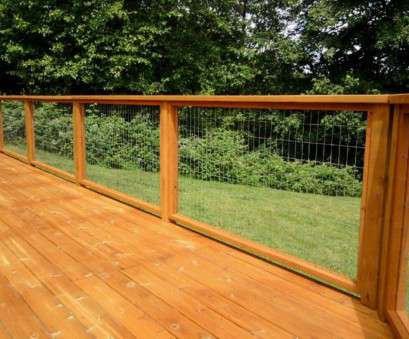 wire mesh decking panels Solve Your Problems With Wire Mesh Deck Railing Railing Stairs, throughout sizing 1024 X 768 9 Popular Wire Mesh Decking Panels Ideas