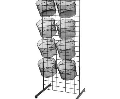 wire mesh display baskets Double Sided Wire Mesh Basket Display 9 Cleaver Wire Mesh Display Baskets Pictures