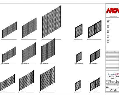 wire mesh fence revit Omega II Fence Systems -, Objects / Families 12 Perfect Wire Mesh Fence Revit Collections