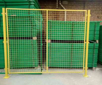 Wire Mesh Fence Suppliers Best 50*100Mm Hole Temporary Wire Mesh Fence, Guardrail , 1.8M, 2M Width Photos