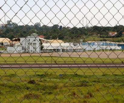 wire mesh fence uganda Old Entebbe Airport terminal, site of, 1976 Israeli