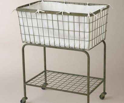18 Simple Wire Mesh Laundry Basket On Wheels Solutions