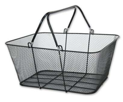 16 Most Wire Mesh Shopping Baskets Images