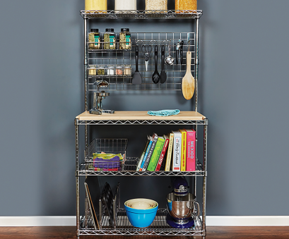 18 New Wire Shelving Bakers Rack Solutions
