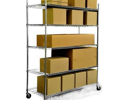 wire shelving storage ideas Trinity 5-tier Heavy Duty Commercial Chrome Wire Shelving Rack, Overstock™ Shopping, Great Deals on Trinity Garage Storage Wire Shelving Storage Ideas Best Trinity 5-Tier Heavy Duty Commercial Chrome Wire Shelving Rack, Overstock™ Shopping, Great Deals On Trinity Garage Storage Ideas